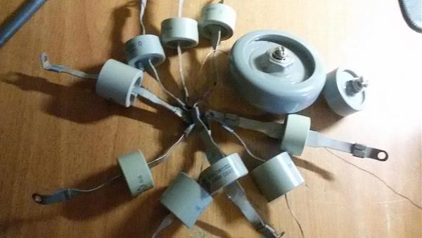 Продам высоковольтные конденсаторы для су