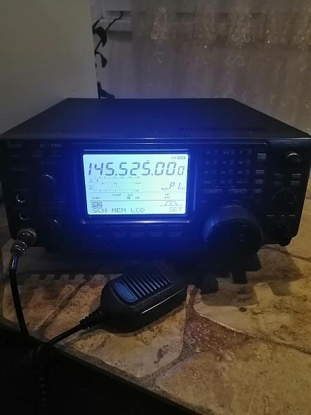 Продам Icom 746 КВ УКВ