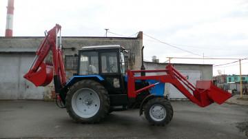 Продам Экскаватор-погрузчик ЭО-2626 на тракторе МТЗ-82