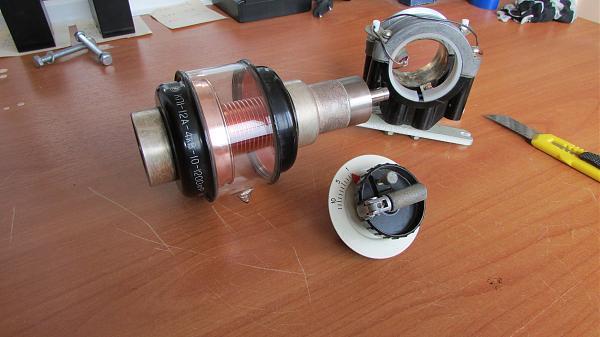 Продам Переменные вакуумные конденсаторы 10-1200 пф 4 кВ