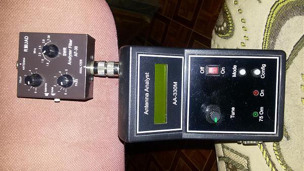 Продам антенный анализатор аа-330м с фильтром от помех