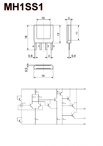 Продам К1116КП1, К1116КП3 и MH1SS1 - датчики Холла