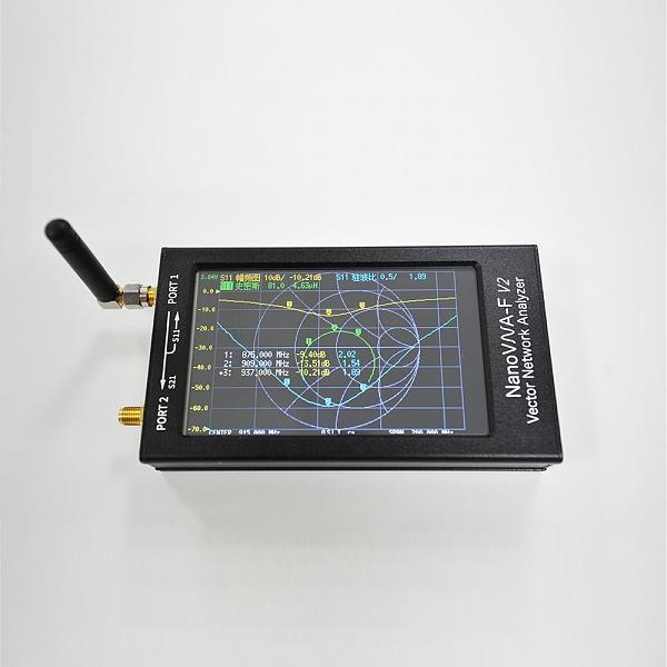 Продам Антенный анализатор NanoVNA-F V2 векторный (лот 2)