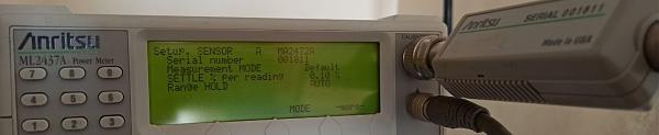 Продам Измеритель мощности Anritsu ML2437+MA2472