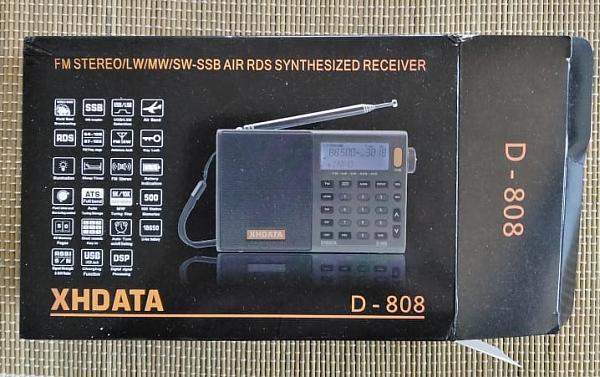 Продам Всеволновый приемник xhdata D-808