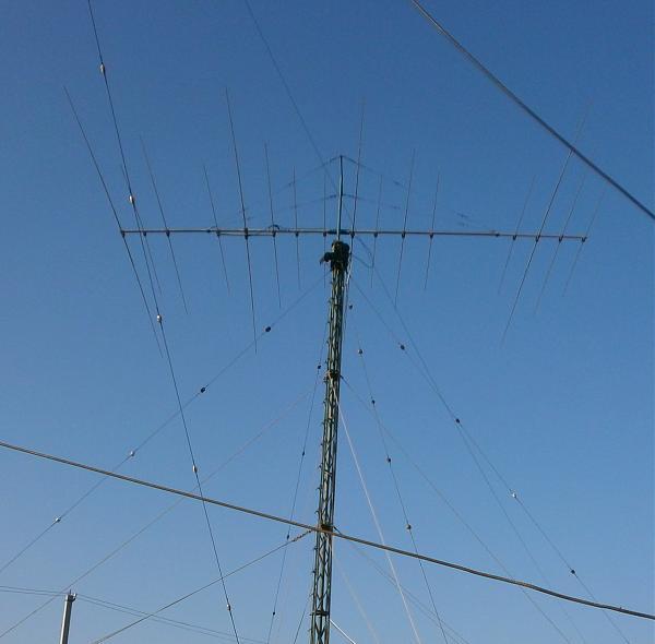 Продам антенна AD 448 с мачтой