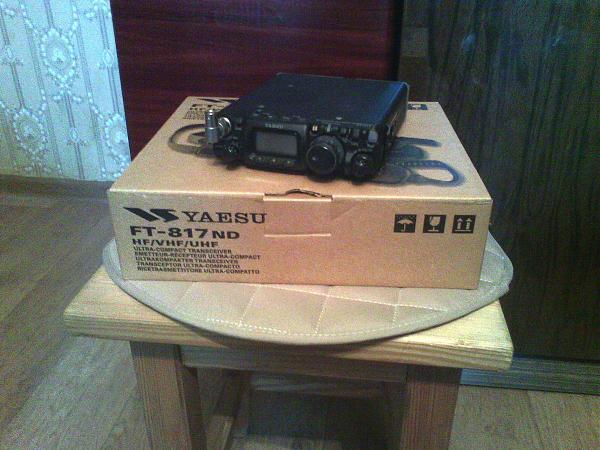 Продам Трансивер Yaesu FT-817ND