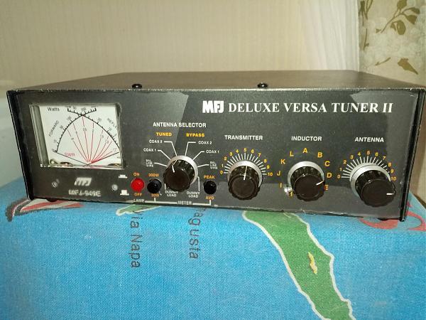 Продам MFJ-949E Ручной антенный КВ тюнер Диапазон