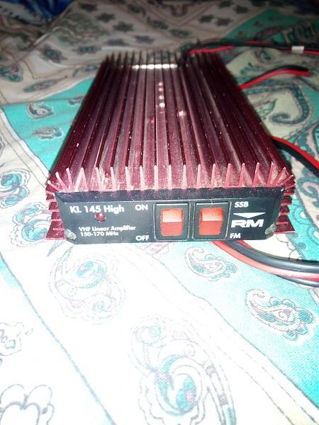Продам УКВ усилитель мощности RM KL-145Hight