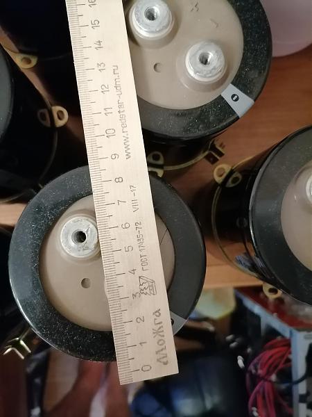 Продам Конденсаторы 12000мкф 400в Импортные