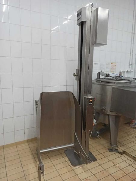 Продам Столбовой подъёмник-опрокидыватель стационарный