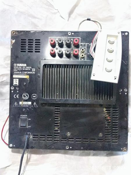 Продам Сабвуфер Yamaha YST-SW515 плата усилитель