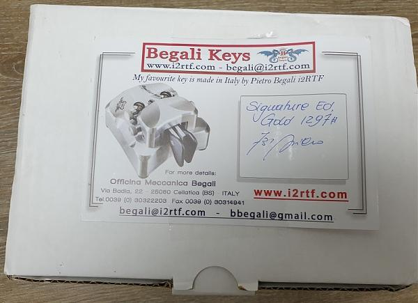 Продам cw ключ begali