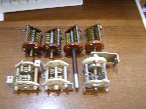 Продам конденсаторы с воздушным диэлектриком