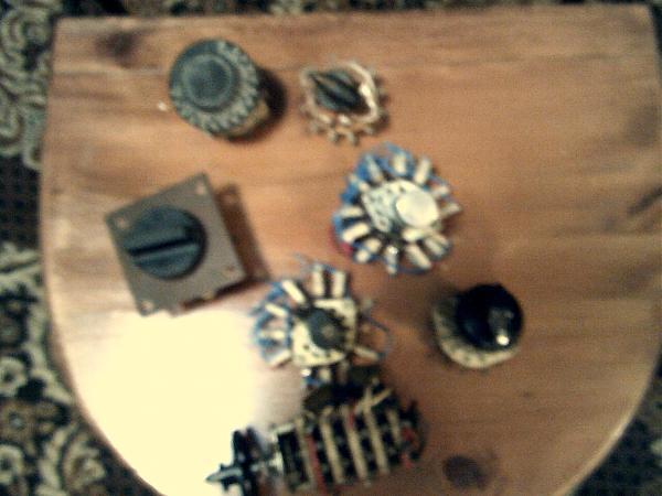 Продам Галетные переключатели керамика, гетинакс, 7 шт