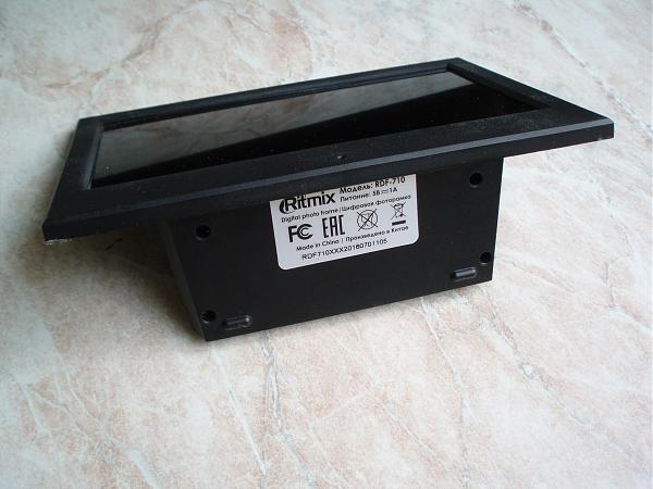 "Продам Цифровая фоторамка 7"" Ritmix RDF-710 Black"
