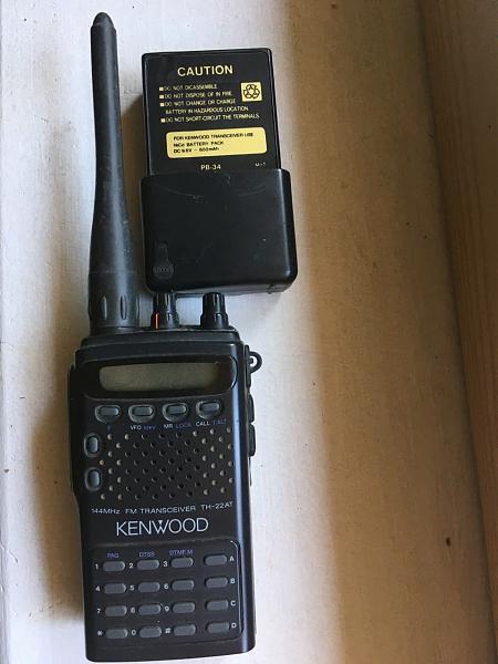 Продам kenwood TH-22AT