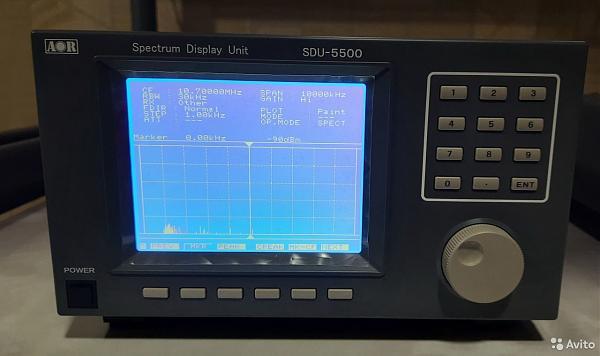 Продам Комплект AOR AR5000A+3U + SDU-5500