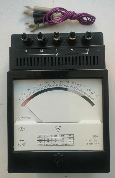 Продам Вольтметр Э543