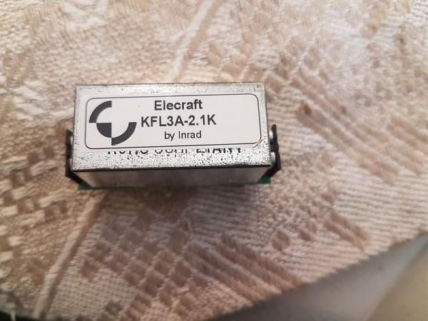 Продам Кварцевые фильтры для Elekraft K3