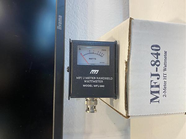 Продам Измеритель мощности VHF носимых р/ст MFJ840