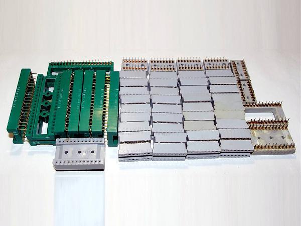 Продам ZIF панели для микросхем DIP