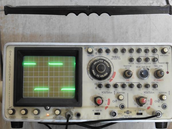 Продам Осциллограф TR-4655/2A 2 х 50 мгц, две развёртки