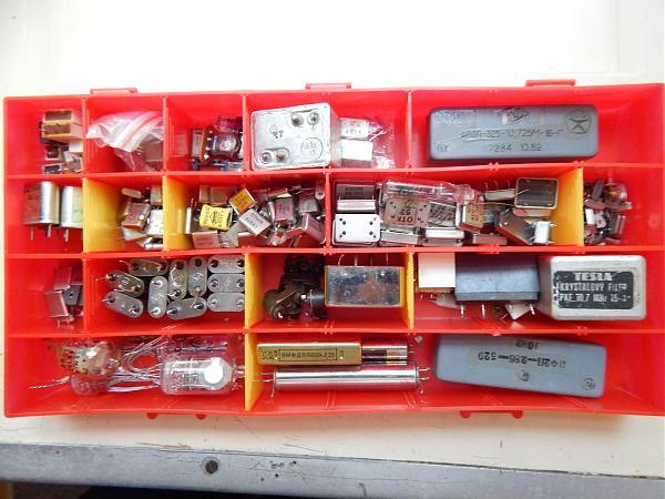 Продам Кварцевые резонаторы и фильтры