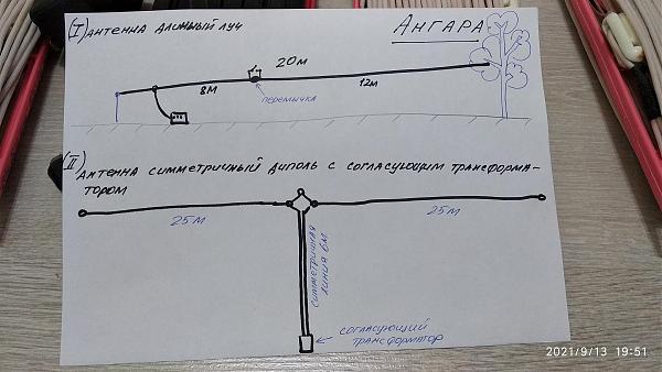 Продам КВ антенна от радиостанции Ангара
