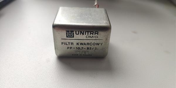 Продам Кварцевый фильтр для трансивера