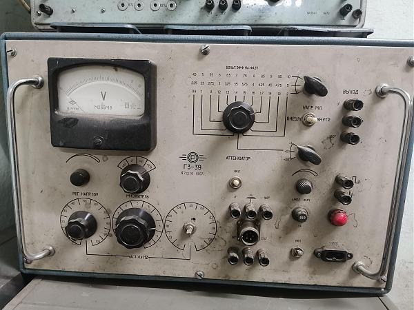 Продам Г3-39 генератор сигналов СССР