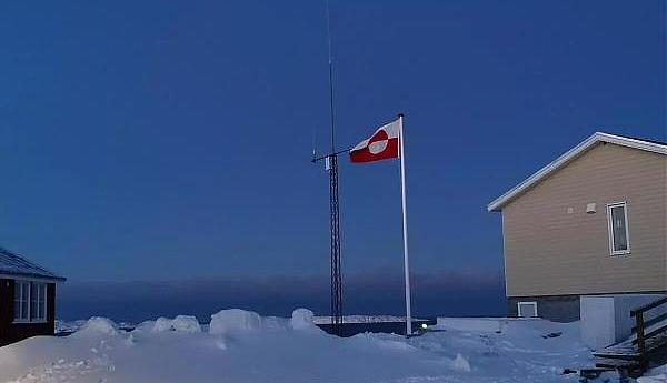 OX3LX Остров Аасиаат Гренландия