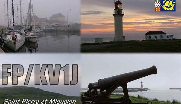 FP/KV1J Остров Микелон