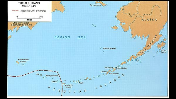Карта KL7 с границей JA 1942-1943