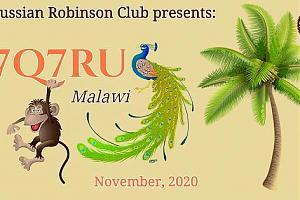 Экспедиция российских радиолюбителей в Малави, 7Q7RU