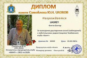 """Дни активности радиоклуба """"Квант"""" 1-10 марта 2021"""