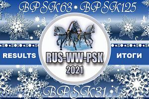 Результаты Russian WW PSK Contest 2021