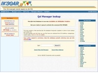 Qsl Manager lookup by IK3QAR