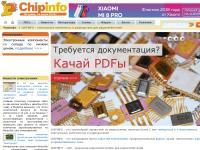 CHIPINFO - электронные компоненты и электроника