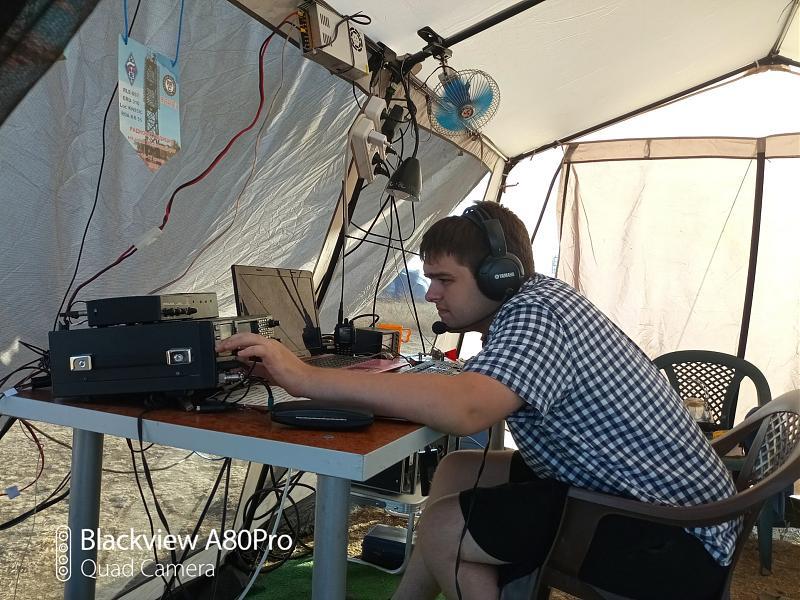 Виталий R6DB в SSB на 14 МГц