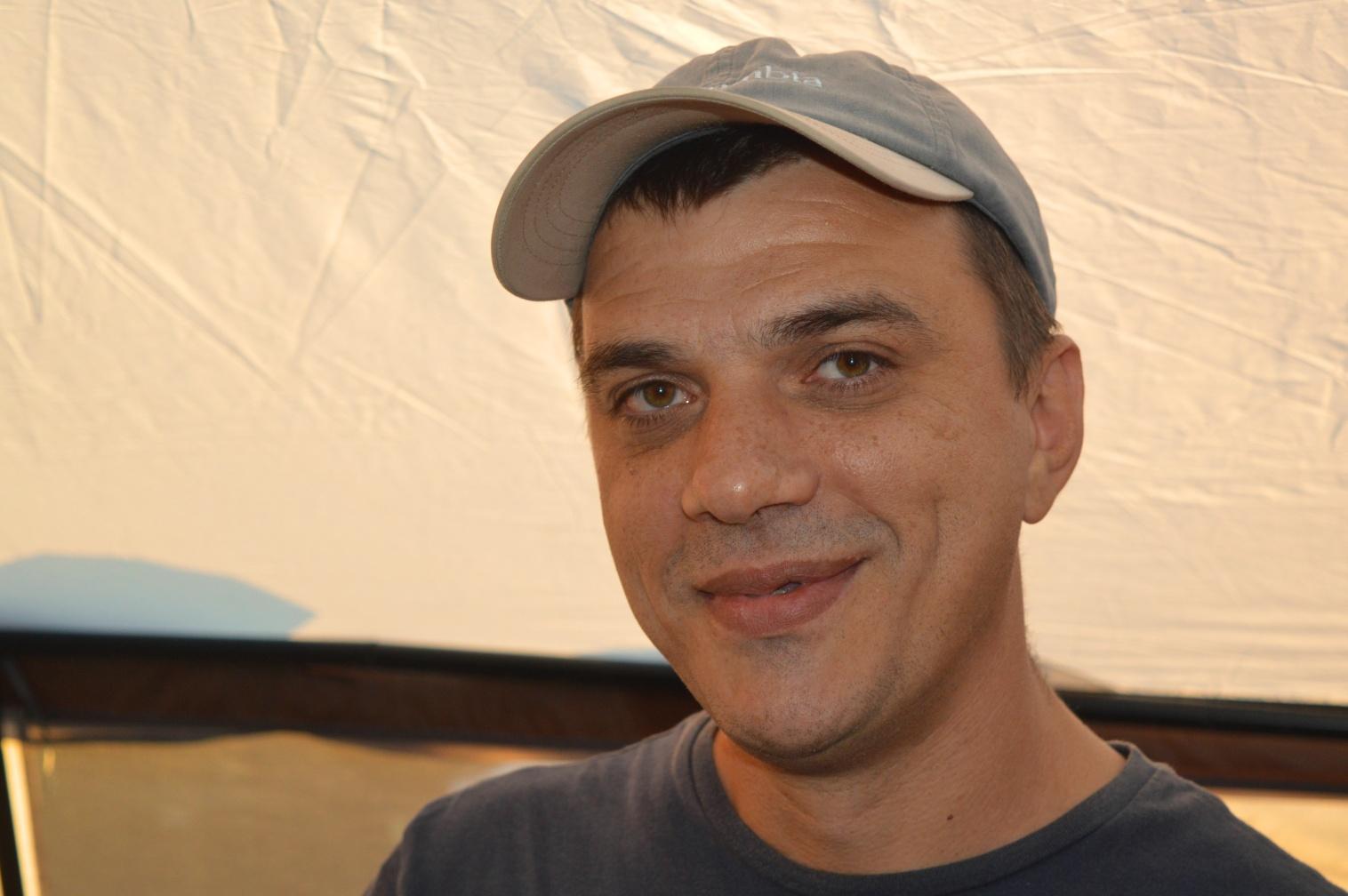Наш гость, Пинчук Василий R7AL – один из самых активных радиоробинзонов экстремалов России